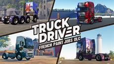 """""""Vive la France!"""" Truck Driver<sup>&reg;</sup> bringt den DLC """"Lackierungen: Frankreich"""" auf PlayStation<sup>&reg;</sup>4 und Xbox One"""