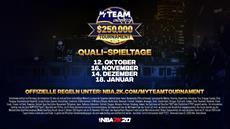 2K bestätigt Details für das NBA 2K20 MyTEAM Unlimited $250.000 Tournament