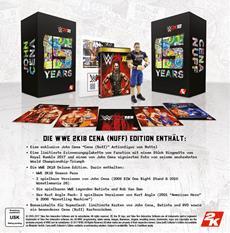 2K kündigt die WWE<sup>®</sup> 2K18 Collector's Edition an