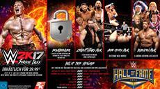 2K kündigt herunterladbare Inhalte, Season Pass und Digital Deluxe Editions für WWE 2K17 an