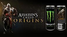 Assassin&apos;s Creed<sup>&reg;</sup> Origins und Monster Energy<sup>&reg;</sup> schlie&szlig;en sich f&uuml;r einzigartige Spielinhalte und besonde Preise zusammen