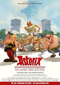 ASTERIX UND SEINE FREUNDE! Das grosse Charakterfeature zu Asterix im Land der Götter! (Kinostart: 26. Februar)