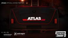 Bau-Simulator 2: Fuhrpark wird um offiziell lizenzierte Baumaschinen von ATLAS erweitert!