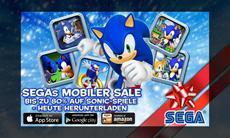 Blaue Weihnachten mit Sonic The Hedgehog für unterwegs - viele Sonic-Spiele für nur 89 Cent im Christmas-Sale