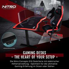 BRANDNEU bei Caseking - The Heart of Your Setup: Nitro Concepts D16 Gaming-Tische