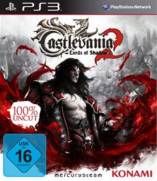 "Castlevania: Lords of Shadow 2 - Packshot und uncut USK Rating ""Ab 16"""