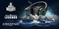 Creative x World of Warships: Exklusive In-Game-Bundles und -Deals für Gamer