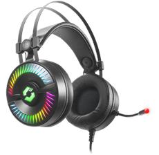 Das Auge hört mit: Gaming-Headset mit spektakulärer RGB-Beleuchtung und Vibrationen