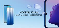 Das HONOR 10 Lite ist ab heute in Deutschland mit 3 GB RAM und 64 GB Speicher verfügbar