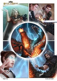 Das Schwarze Auge: Book of Heroes | Teil 9 des Comics