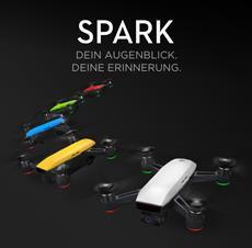 Der DJI Spark - Die bisher kleinste Drohne von DJI