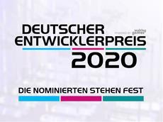 Deutscher Entwicklerpreis 2020 | Die Nominierten stehen fest