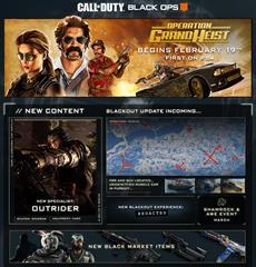 Die neue Content-Saison für Black Ops 4 beginnt heute!