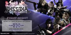 DISSIDIA Final Fantasy NT: Erste offizielle Fight Night in Berlin am 16. Dezember