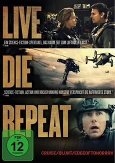 DVD/BD - V&Ouml; | Edge of Tomorrow - ab 9. Oktober auf Blu-ray<sup>&trade;</sup>, Blu-ray 3D<sup>&trade;</sup> und DVD - bereits ab 25. September DIGITAL erh&auml;ltlich