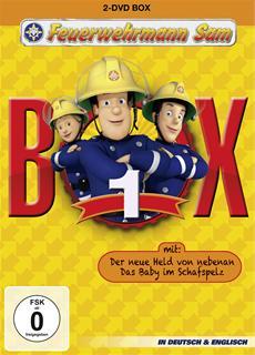 DVD-VÖ | Feuerwehrmann Sam - Box 1 (Staffel 6)