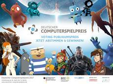 Endspurt zum Deutschen Computerspielpreis 2017: Große Gala am 26. April 2017 live im Stream verfolgen