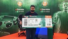 Fatih Kadimli repräsentiert Deutschland im großen Finale der Roland-Garros eSeries