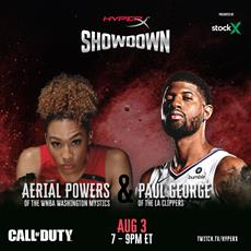 HyperX Showdown Dunks on the Competition This Week with Aerial Powers and Paul George