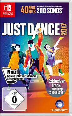 Just Dance<sup>®</sup> 2017 ist ab sofort für Nintendo Switch erhältlich