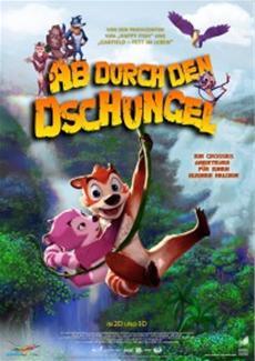 Ab durch den Dschungel! Neuer Animationsfilm ab 7.8.14 im Kino!