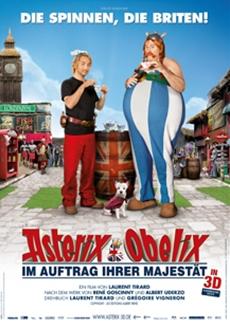 ASTERIX & OBELIX - IM AUFTRAG IHRER MAJESTÄT (3D): Kinostart am 18. Oktober 2012