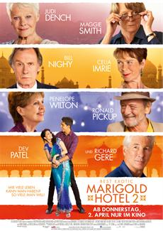 Best Exotic Marigold Hotel 2 Weltpremiere als CTBF Royal Film Performance