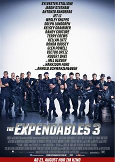 THE EXPENDABLES 3 - Stallone, Banderas, Statham, Snipes und Lutz stellen neuen Action-Kino-Hit vor