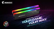 MEMORY BOOST! GIGABYTE veröffentlicht die AORUS RGB 4400MHz 16GB Speicher