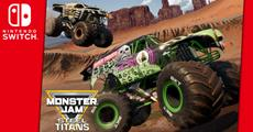 Monster Jam Steel Titans bald auf Nintendo Switch<sup>&trade;</sup>