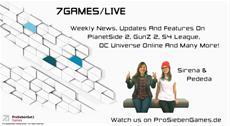 """Neuer Webcast """"7Games/Live"""" auf ProSiebenGames.de"""