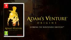 Adam's Venture<sup>&reg;</sup>: Origins knobelt sich seinen Weg auf die Nintendo Switch<sup>&trade;</sup> am 25. September 2020