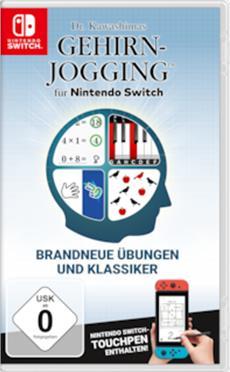 Spielen bis der Arzt kommt: Mit Dr. Kawashima trainieren Gehirn-Jogger ab Januar auf Nintendo Switch