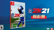 PGA TOUR 2K21 jetzt als physische Version für Nintendo Switch erhältlich