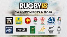 Rugby 18 | Offizieller Kick-Off am 27. Oktober mit 65 Teams