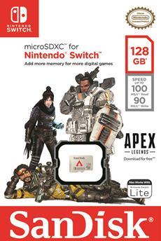 SanDisks neue Apex Legends-Speicherkarte für Nintendo Switch ermöglicht zukünftig mehr Vielfalt für Spieler im Gaming-Bereich