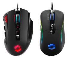 Speedlink präsentiert ergonomisch anpassbare RGB-Gaming-Mäuse TARIOS und SICANOS