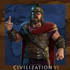 Trajan führt Rom an in Civilization VI