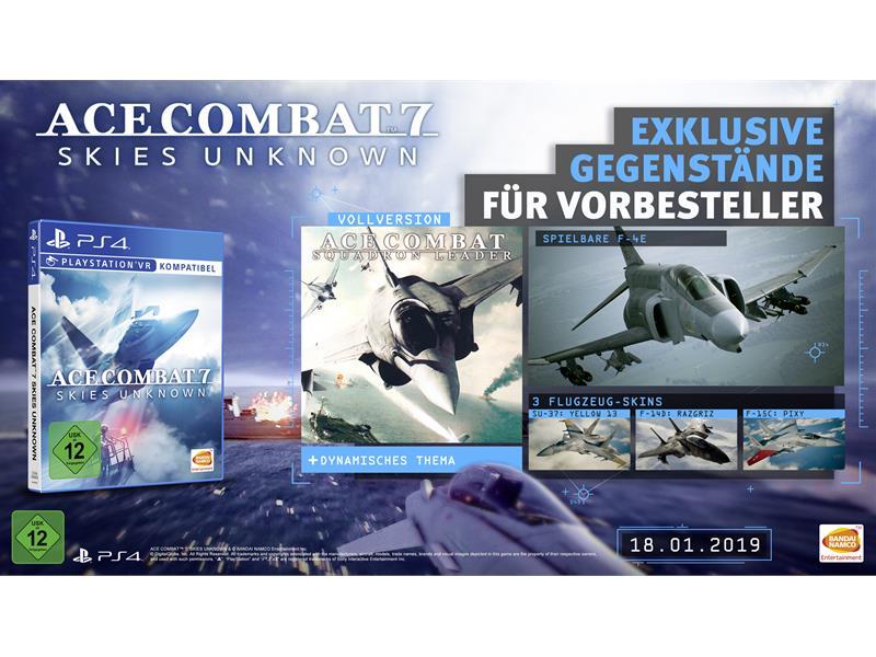 ACE COMBAT 7: Skies Unknown - Vorbestellerboni und Deluxe