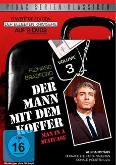 """""""Der Mann mit dem Koffer, Vol. 3"""" - weitere 6 Folgen der Kult-Krimiserie am 20.06.2014 auf DVD"""