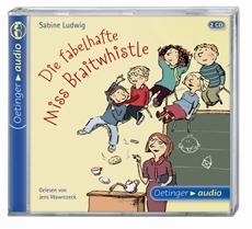 """""""Die fabelhafte Miss Braitwhistle"""" von Sabine Ludwig ist Hörbuch des Monats Juli 2012 beim Sankt Michaelsbund"""