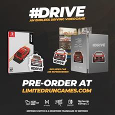 #DRIVE Definitive Edition Switch Physical Edition Announced in Partnership with Limited Run Games