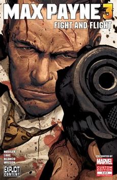 """""""Fight and Flight"""", Teil 3 der Max Payne 3-Comic-Reihe erscheint nächste Woche"""