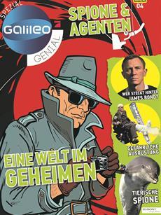 """""""Galileo genial Spezial - Spione & Agenten"""" neu am Kiosk"""