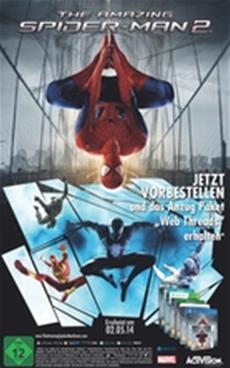"""""""The Amazing Spider-Man 2"""": Exklusive Vorbesteller-Bonusinhalte"""