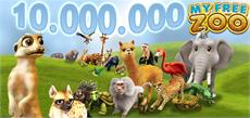 10 Millionen My Free Zoo Spieler