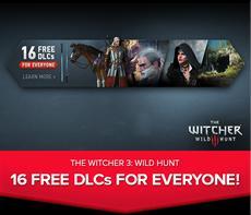 16 kostenlose DLCs zu THE WITCHER 3: WILD HUNT für alle Spieler