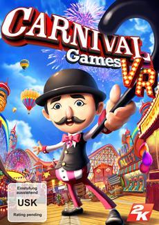 2K k&uuml;ndigt die Ver&ouml;ffentlichung von Carnival Games<sup>&reg;</sup> VR f&uuml;r dieses Jahr an