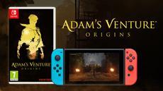 Adam's Venture<sup>&reg;</sup>: Origins - Einzelhandelsversion f&uuml;r Nintendo Switch<sup>&trade;</sup> ist jetzt in den L&auml;den