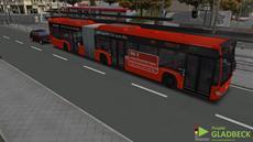 """Aerosoft veröffentlicht das neue Omnibus-Simulator-Add-On """"Projekt Gladbeck"""""""
